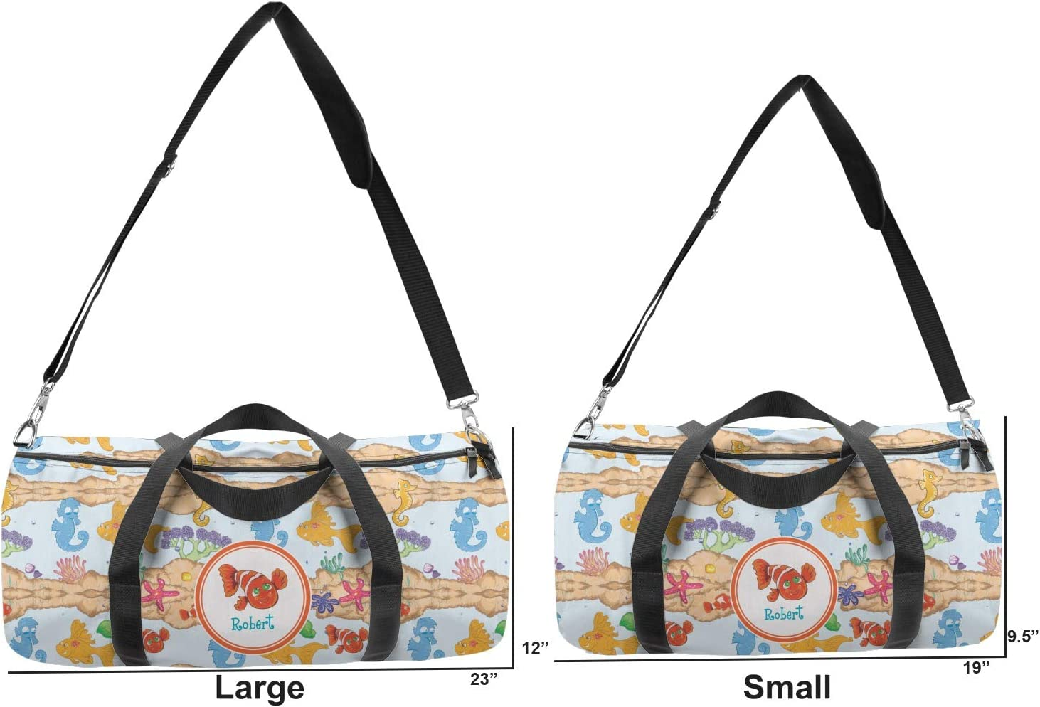 YouCustomizeIt Under The Sea Duffel Bag Personalized