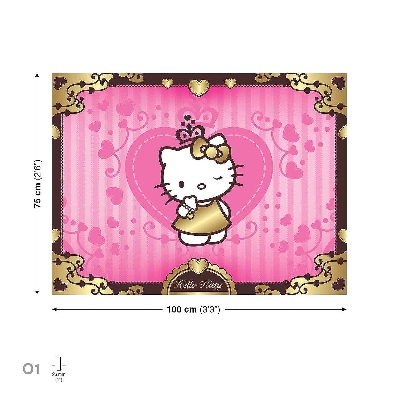 Hello Kitty Leinwand Bilder (PPD430O1FW) - Wallsticker Warehouse ...