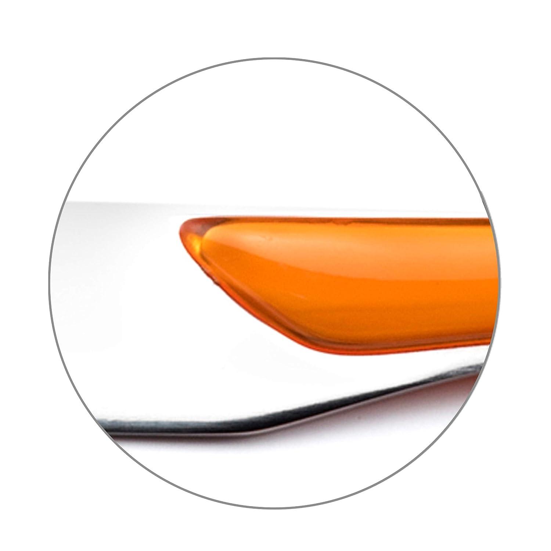 Amefa Eclat M/énag/ère Multi pi/èces-coffret Multi persone ABS Acciaio Inox SAN arancione M/énag/ère 16 couverts pour 4 personnes