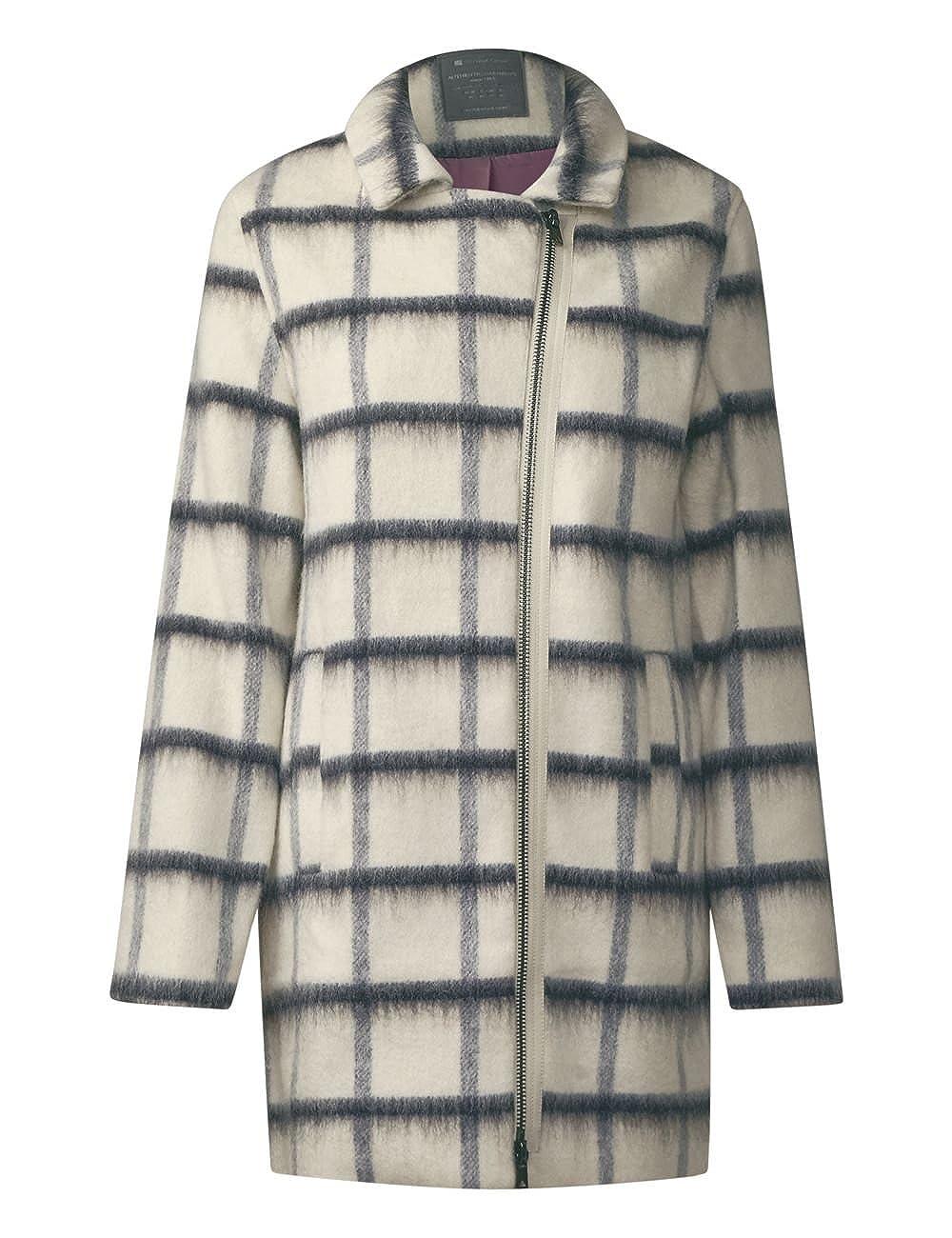 One Pale Ojp Street Manteau Coat Wool window Femme pTdxdw6q