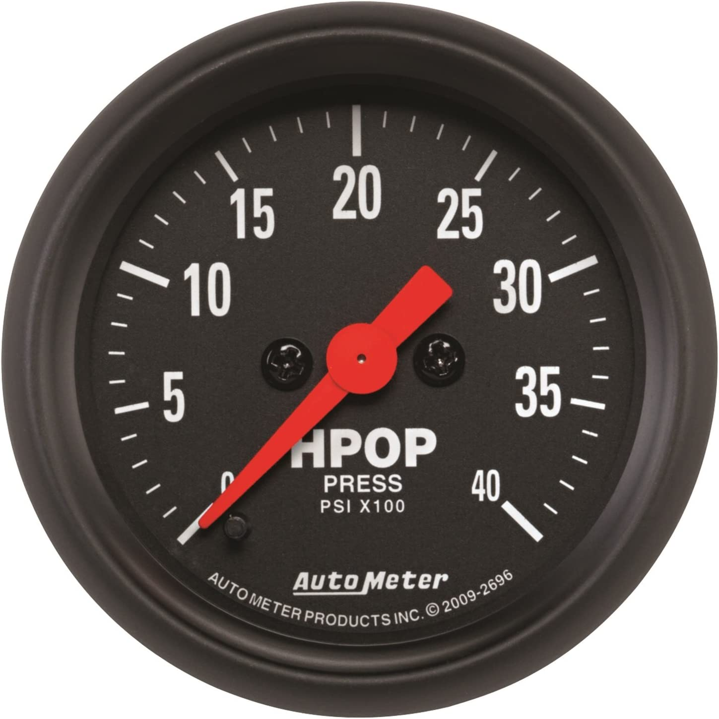 Auto Meter 2696 Z-Series High Pressure Oil Pump Gauge
