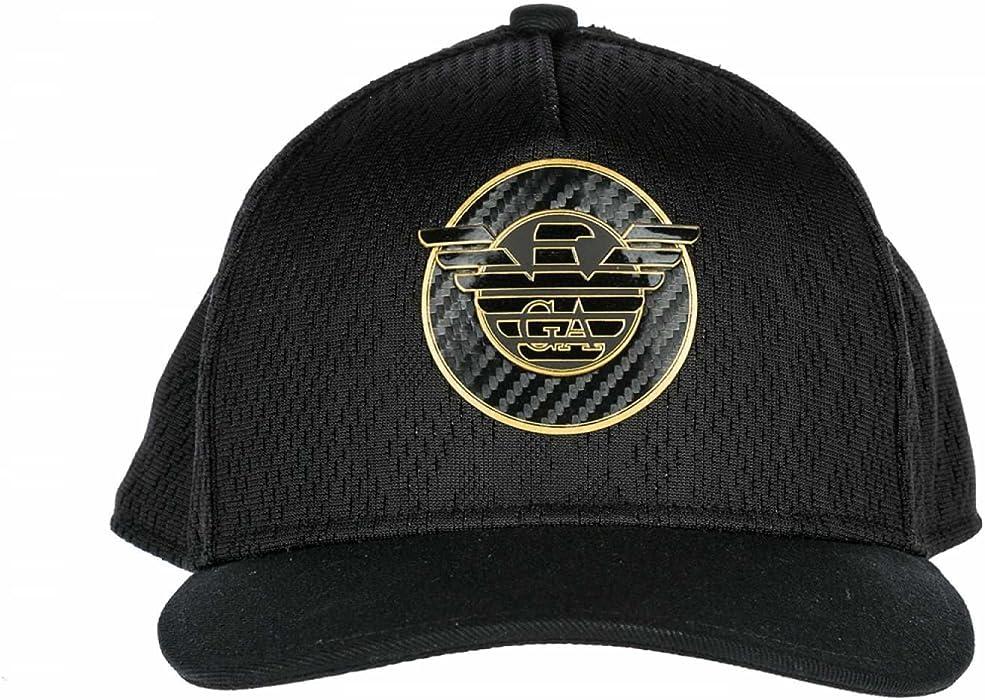 a9d5246c10 Emporio Armani EA7 cappello berretto regolabile uomo originale train ...