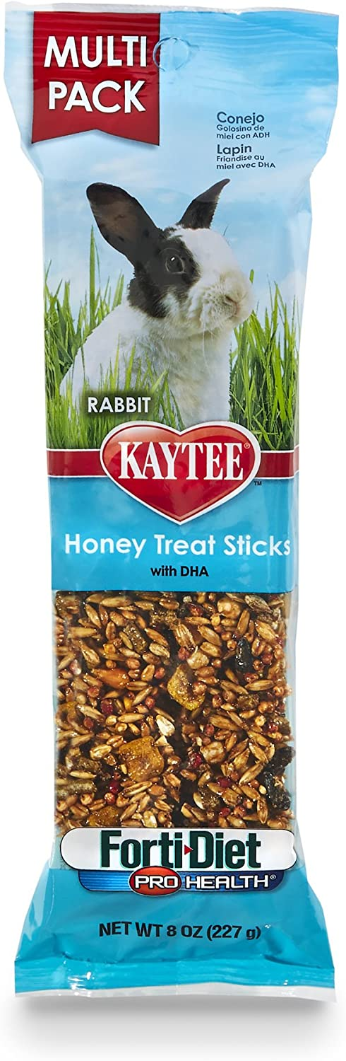 Kaytee Treat Stick Honey Flavor - Rabbit 8 oz : Pet Food : Pet Supplies