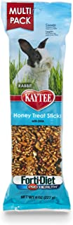 product image for Kaytee Forti-Diet Pro Health Rabbit Treat, Honey Treat Stick Value Pack, 8-Ounce