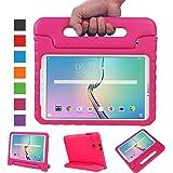 """NEWSTYLE Samsung Galaxy Tab E 9.6 pollici EVA Cover, custodia antiurto portatile per bambini con supporto per cellulare Tablet funzione leggio per Samsung Tab E SM-T560/SM-T561 9.6 """" Rosa"""