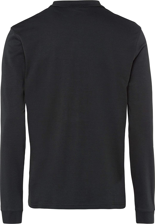 BRAX Mens Philip Pima Cotton Interlock Polo Casual Longsleeve T-Shirt