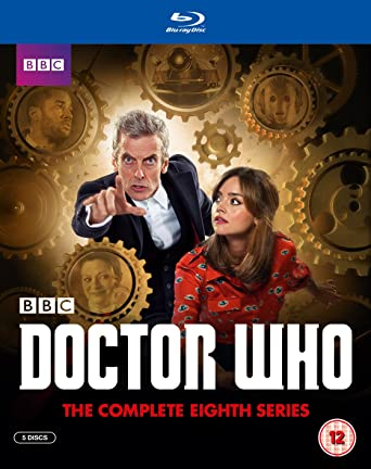 Image result for doctor who series 8 series blu-ray uk