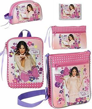 Disney Violetta Bolso bandolera, Funda para tablet, neceser ...