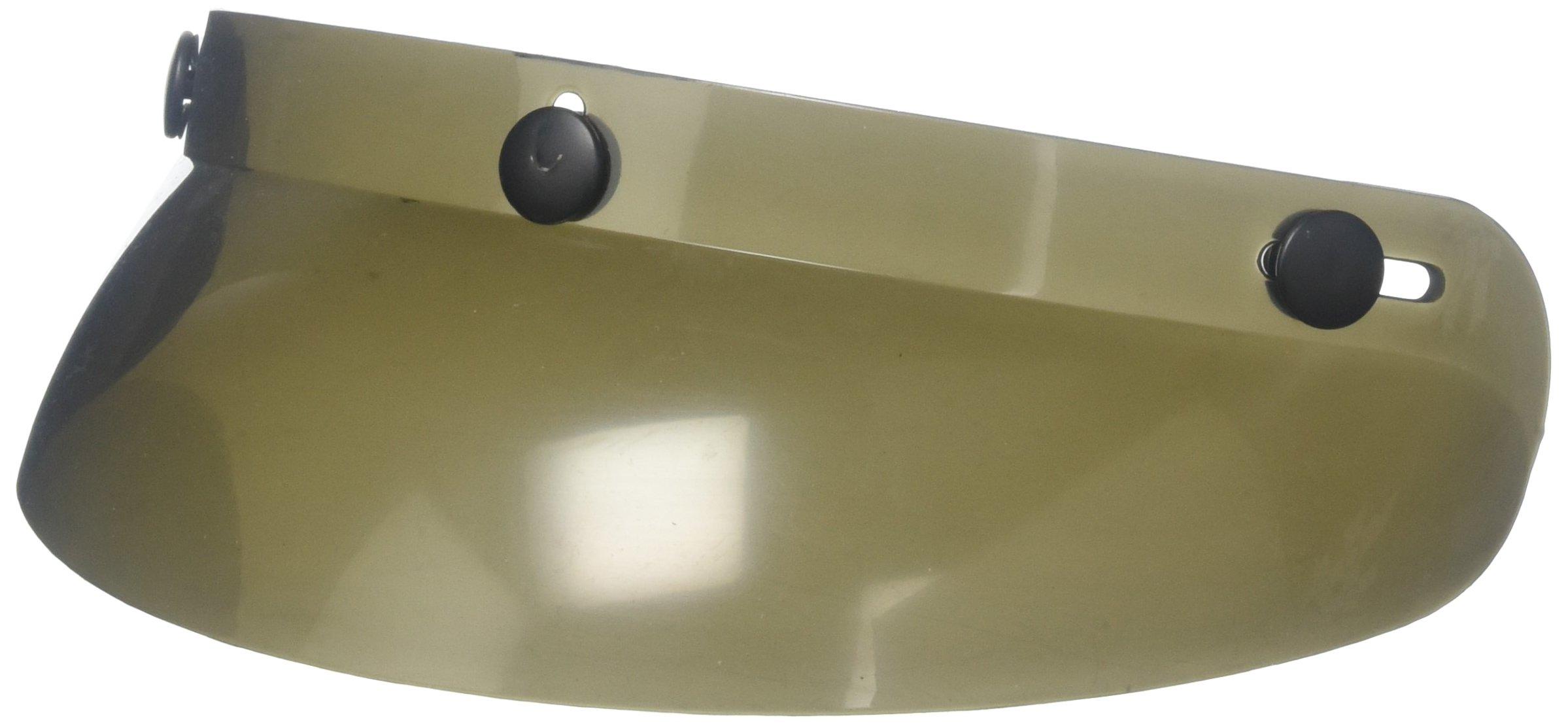 Vega 3-Snap Standard Visor (Smoke, One Size)