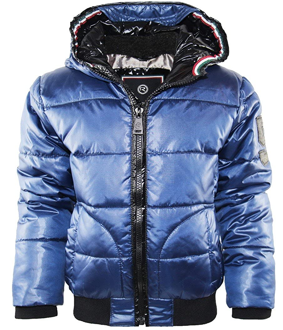 Reset Boys' Quilted Jacket Blue Blue Blue 12 Years