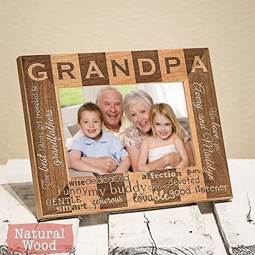 Amazon Personalized Grandpa Picture Frame Grandpa Gift Gifts
