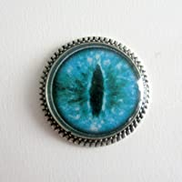 Dragon Eye Teal Needle Minder, 22mm Needle Minder