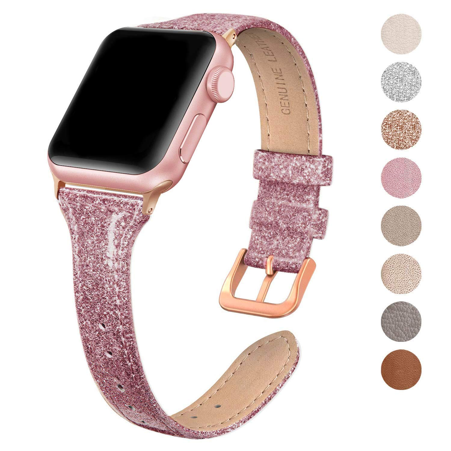 Malla Cuero Para Apple Watch (38/40mm) Swees [7qbp4jgb]