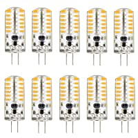 Deals on 10-Pack Kingso 3W G4 LED Light Bulb