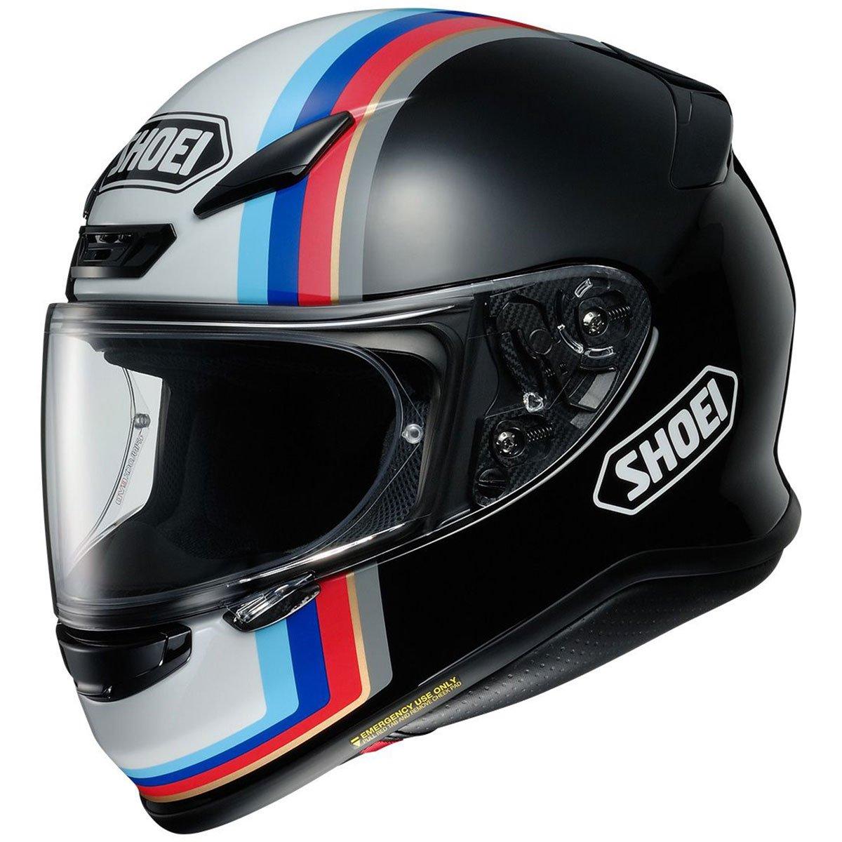 Shoei RF-1200 Recounter Sports Bike Racing Motorcycle Helmet - TC-10 / Large