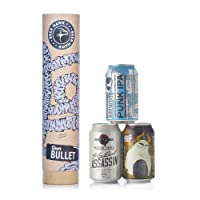 Beer Hawk Bullet Craft Beer Can Gift Set (IPA) - Beer Gift Idea