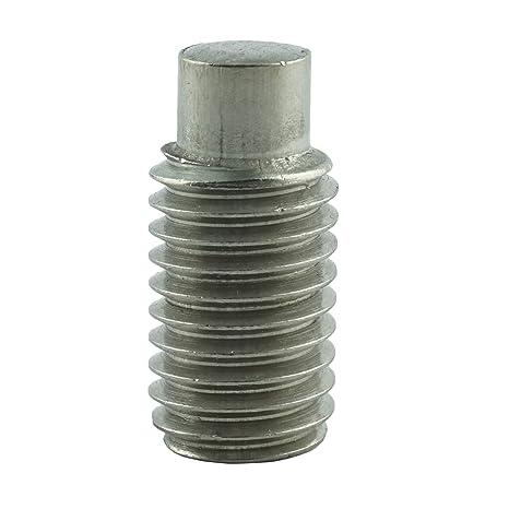 M12 DIN 915 A2 Gewindestifte Zapfen Edelstahl Innensechskant Madenschrauben M12x