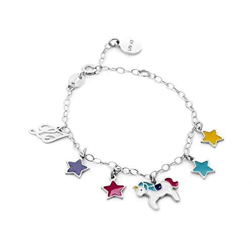 Bracciale Bambina Unicorno Junior BLJ367 - Liu Jo Luxury  Amazon.it ... 5c7483bf92c