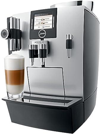 Jura IMPRESSA XJ9 Professional Independiente Máquina espresso 4L 40tazas Plata - Cafetera (Independiente, Máquina espresso, Plata, Botones, TFT, ...