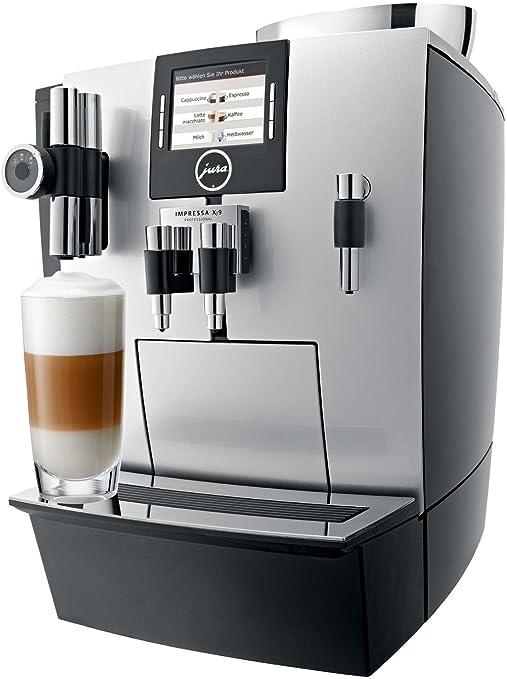 Jura IMPRESSA XJ9 Professional Independiente Máquina espresso 4L 40tazas Plata - Cafetera (Independiente, Máquina