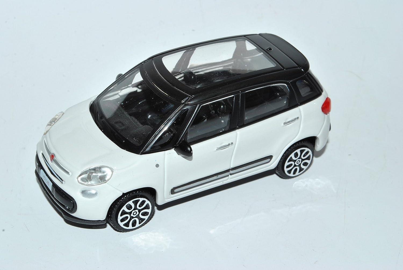 Fiat 500L Van White Ab 2012 1//43 Bburago Modell Auto