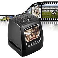 """DIGITNOW! Escáner de película para 35mm Negativos y Diapositivas, Escáner de Alta resolución con 2,4"""" LCD, Convertidor…"""
