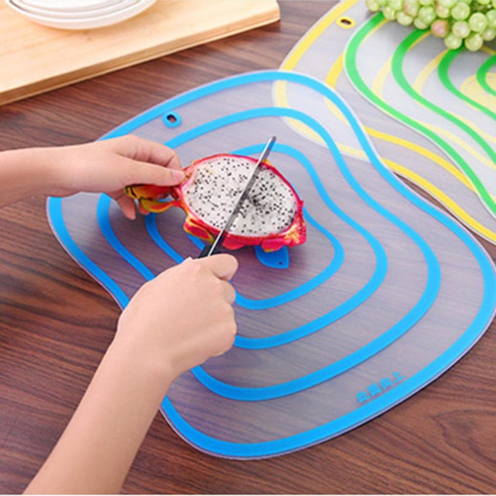 Wensltd Clearance! Fat Scrub Category Cutting Board Non - slip Fruit Rubbing Panel Kitchen (M)