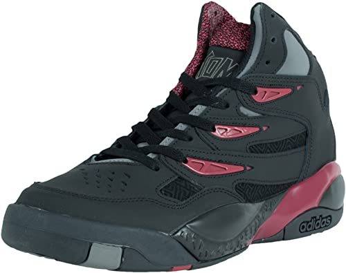 Mutombo Adidas Hombre 2 Zapatillas de Atletismo - 2014 Limited Edition C75206 Black/Red 43.3: Amazon.es: Zapatos y complementos