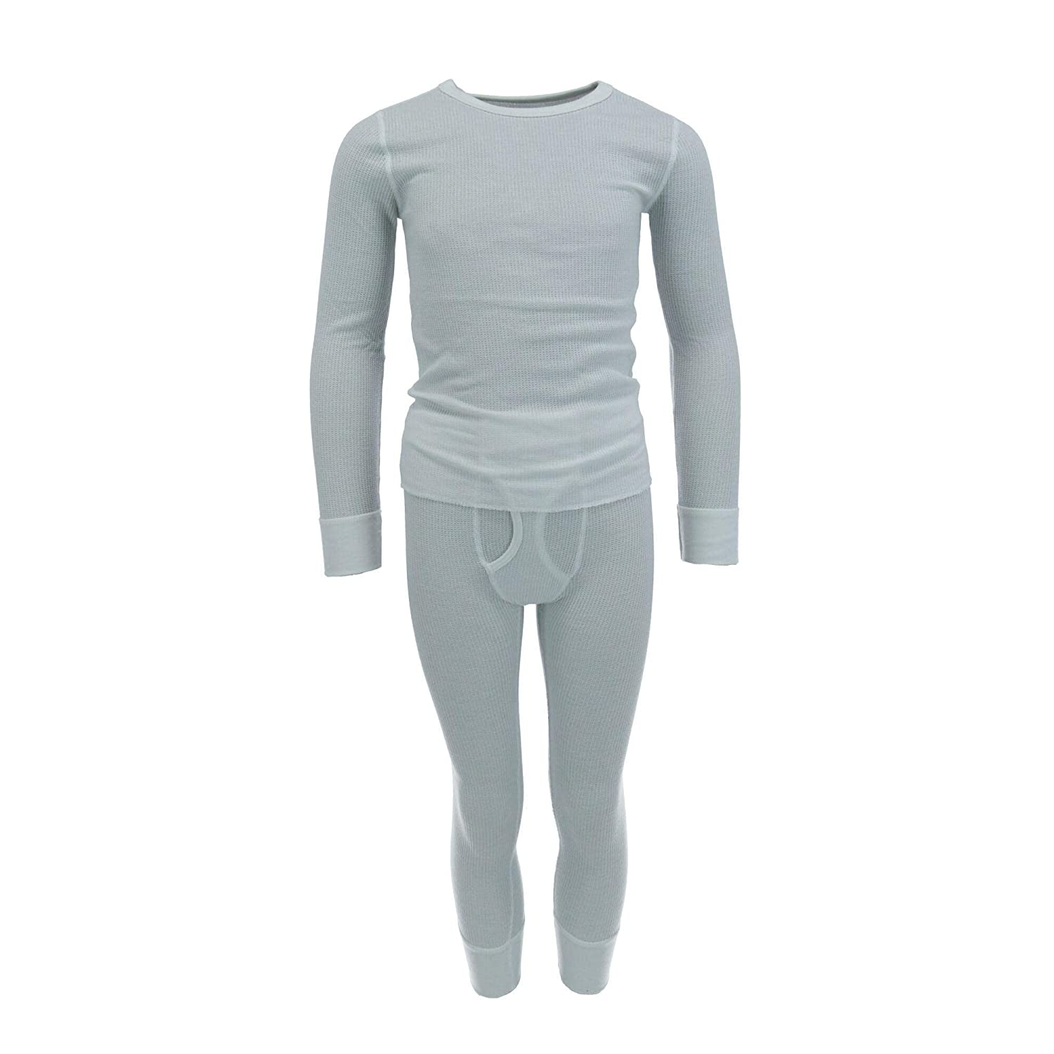 Fruit of the Loom Boys Waffle Knit Insulated Top and Bottom Long Underwear