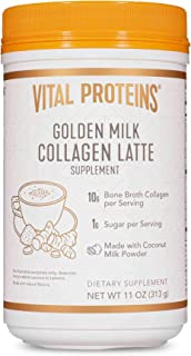 product image for Vital Proteins Collagen Lattes - MCTs for Keto, 10g of USDA Organic Bone Broth Protein, Low Sugar, (Golden Milk)