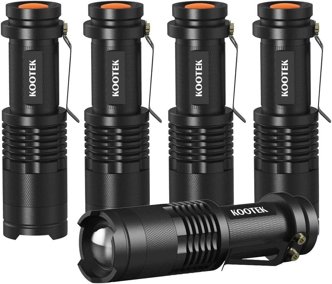 80000Lm Mini Portable Q5 LED Flashlight Pen Lamp Small Pocket Torch EH