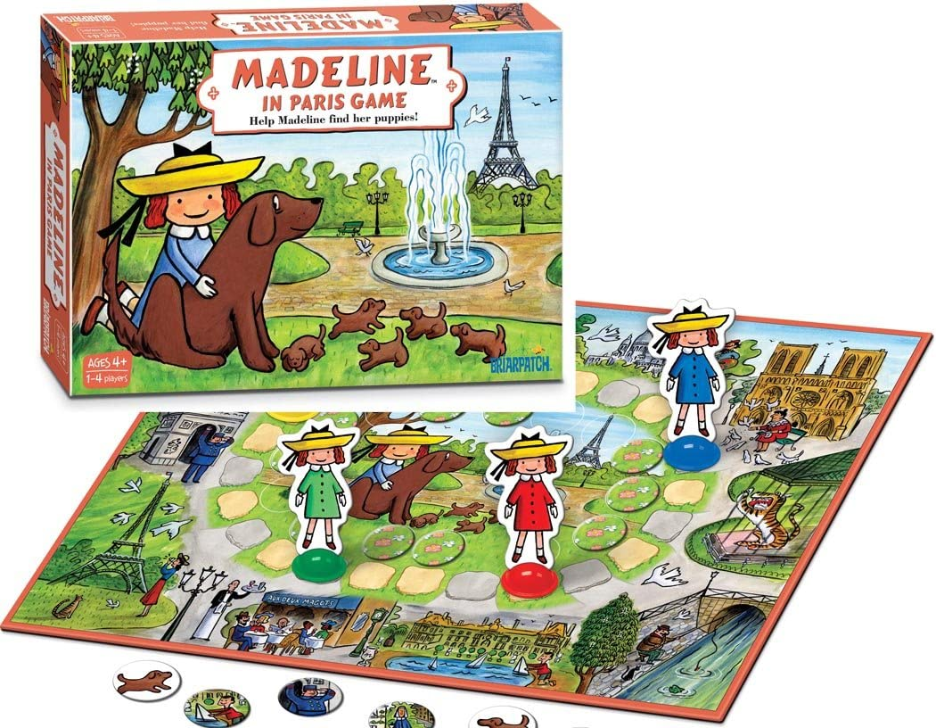 Amazon Com Briarpatch Madeline In Paris Toys Games
