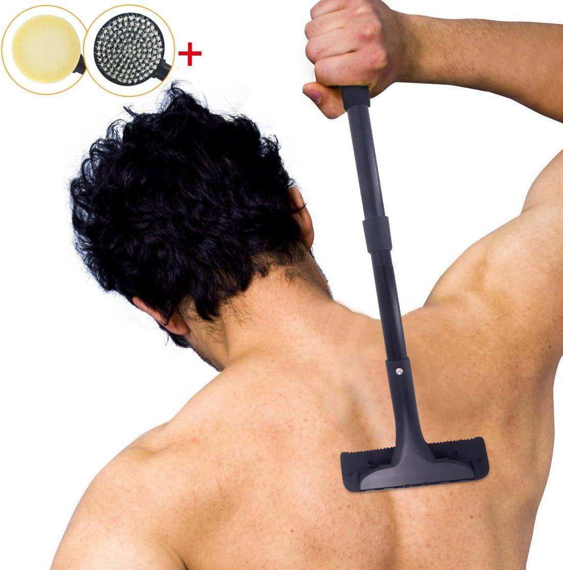 Afeitadora de espalda, afeitadora de pelo y maquinilla de afeitar ...