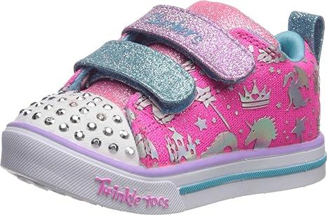 Skechers Girls Sparkle Lite-Sparkleland