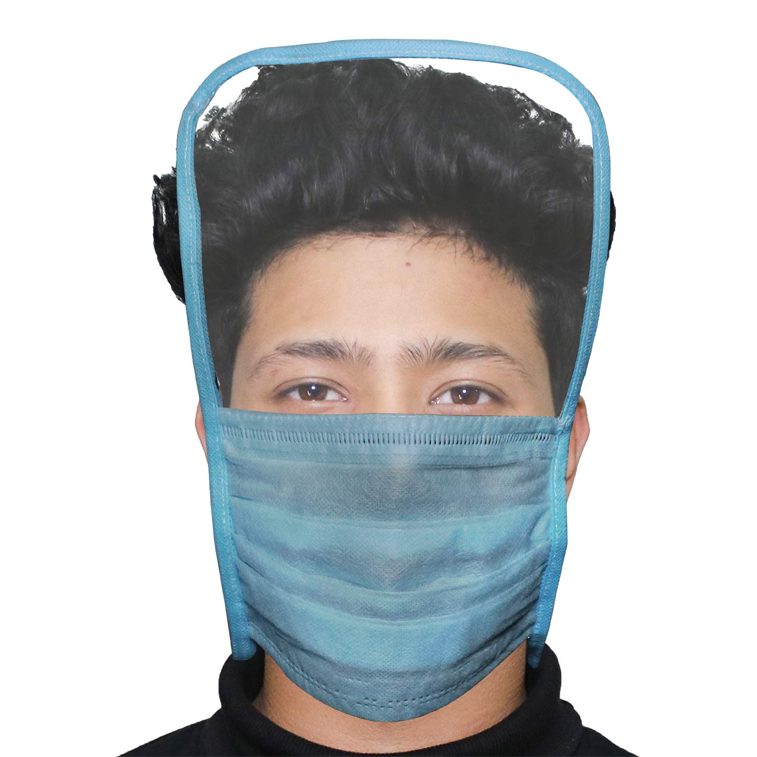 3 Ply Face Mask with Eye Shield