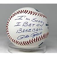 "$148 » Pete Rose Signed Auto Baseball""i'm Sorry I Bet On Baseball"" Ah64344 - PSA/DNA Certified - Autographed Baseballs"