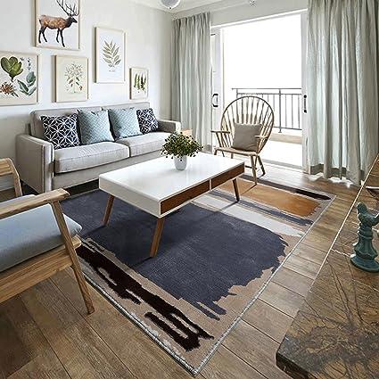 @home Rugs Rectangular Carpet, Modern Abstract Art Pattern Living Room  Bedroom Bedside Rug Nordic