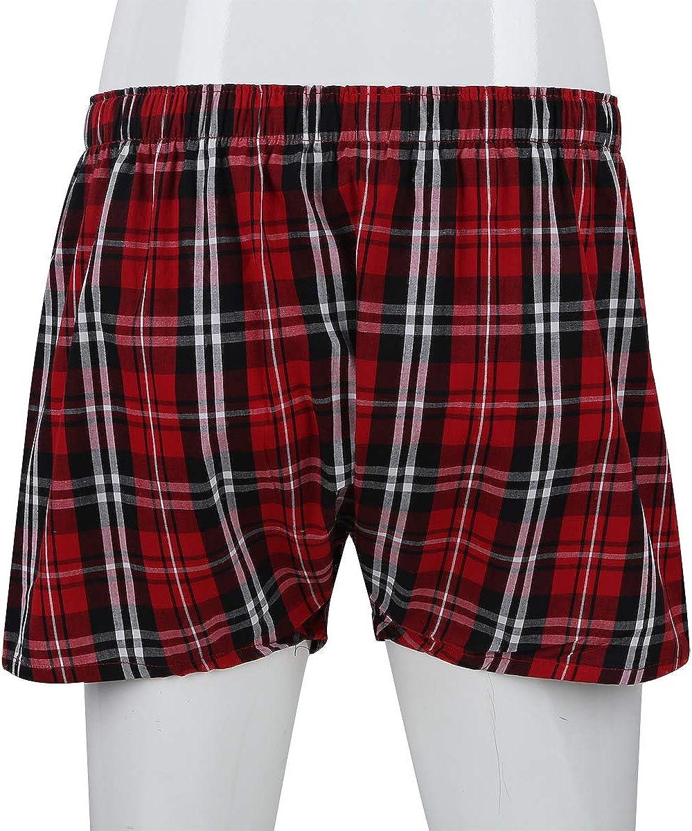 Yeahdor Bas de Pyjama Homme Short de Chambre Loisirs Bermudas Court Pantalons /Élastique Coton Cale/çon Boxer V/êtements de Nuit M-XXXL
