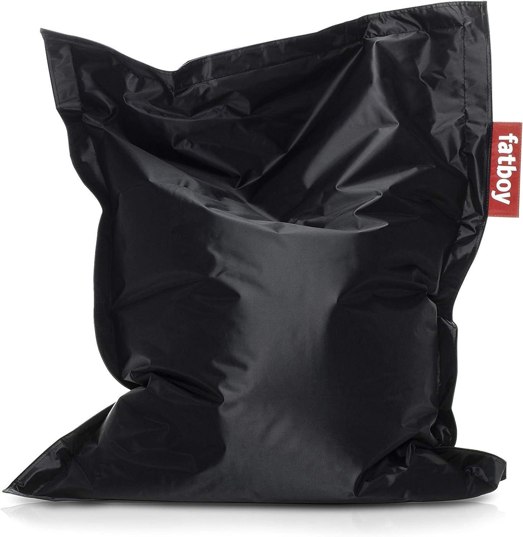 Black Fatboy USA SLM-BLK Original Slim Bean Bag Chair