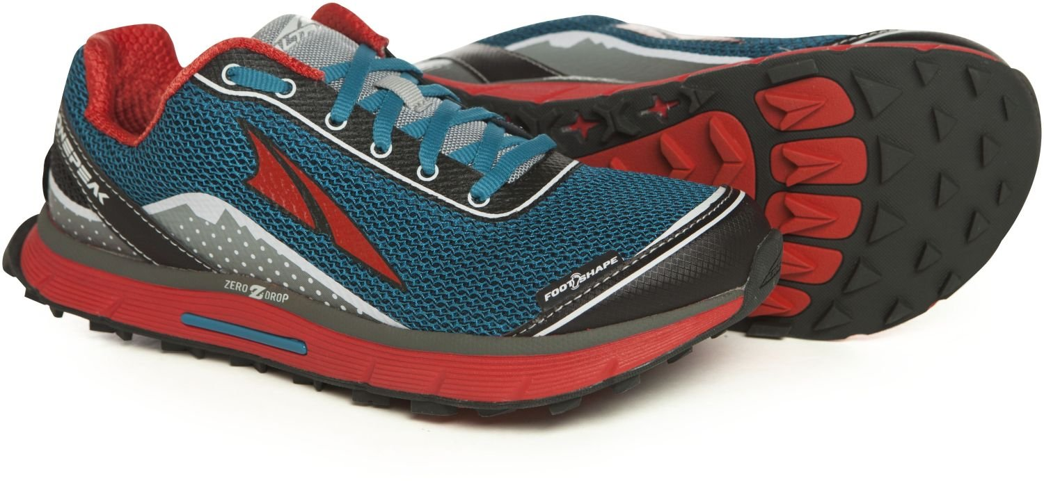 Altra Women's Lone Peak 2.5 Trail Running Shoe, Caribbean Blue, 11 M US by Altra (Image #1)