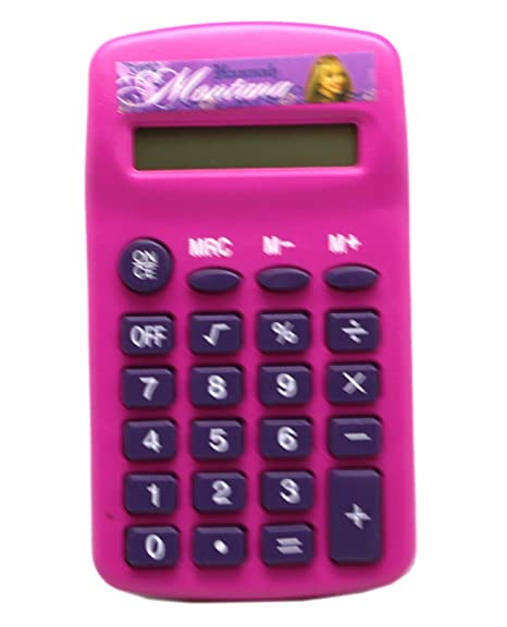 Amazon.com: Disneys Hannah Montana Magenta - Calculadora ...