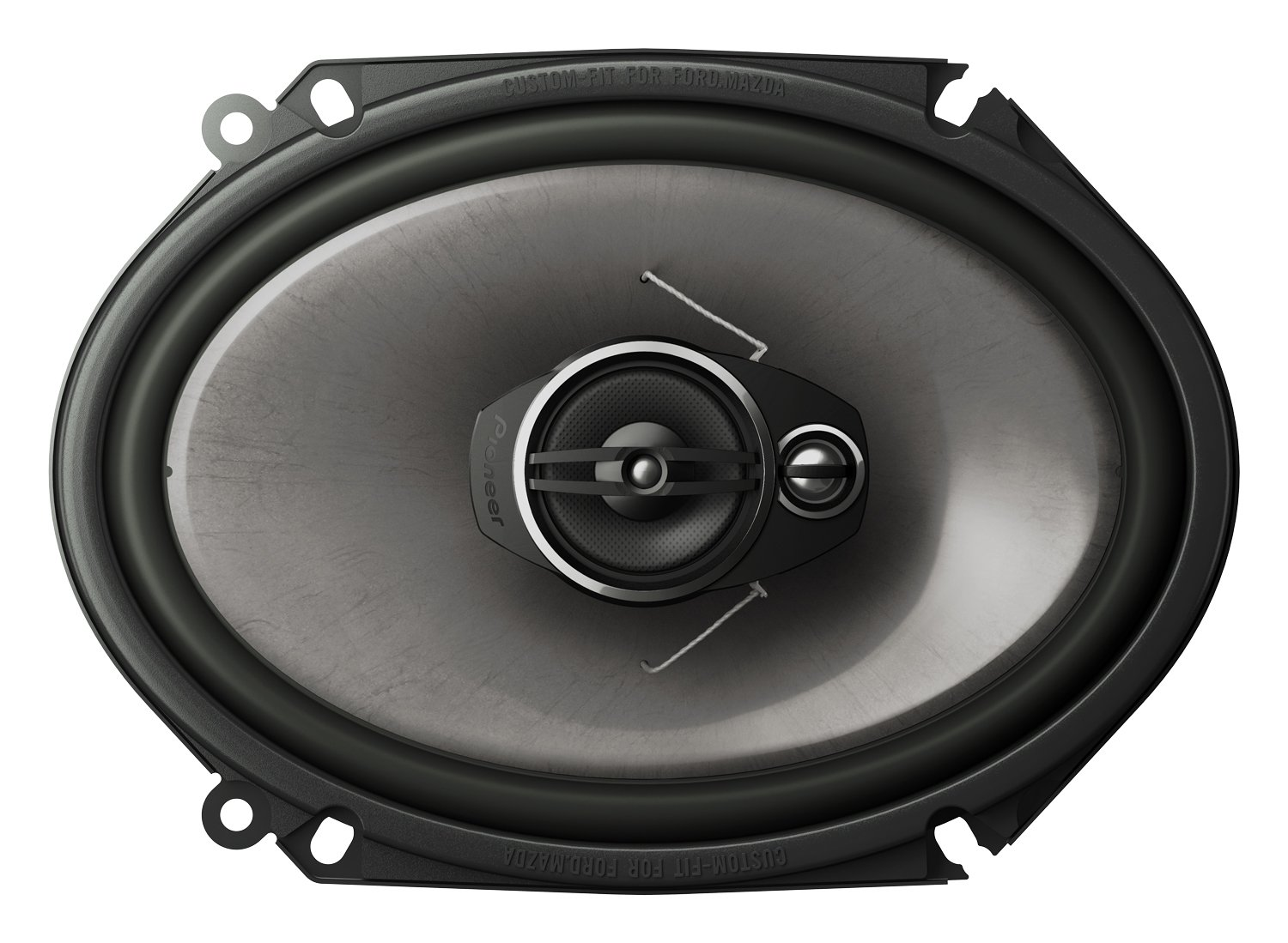 "Amazon.com: Pioneer TS-A6874R A-Series 6""x8"" 3-Way 350 Watts (Discontinued  by Manufacturer): Car Electronics"