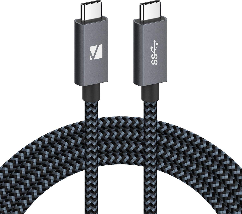 Carga R/ápida PD Cable USB C a USB C 1 Metro IVANKY Cable USB 3.2 Gen 2x2 100W iPad Pro para MacBook Air//Pro Galaxy S10 S9Huawei P30 Transferencia de Datos a 20 Gbps y Video UHD 4K @ 60Hz