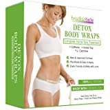 Brazilian Belle Detox Clay Body Wraps for Inch Loss | Advanced Spa Formula with Bentonite Clay, Caffeine & Aloe Vera | Cleans