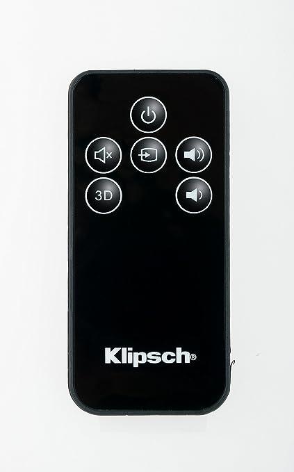 Klipsch OEM Remote Control For R 10B ICON SB 1 3 Speakers