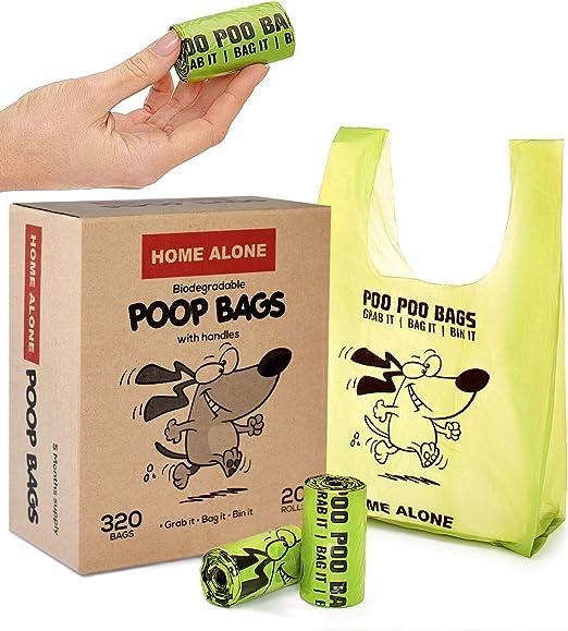 Home Alone Bolsas para Caca de Perro, Bolsas para desechos de ...
