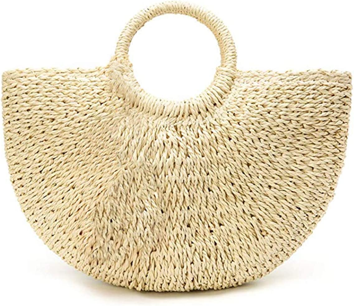 Product photo of Summer Beach Bag,Straw Bag,Large Hobo Bag for Women