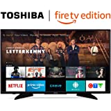 Toshiba 43LF621C19 43-inch 4K Ultra HD Smart LED TV with HDR - Fire TV Edition (+ Free English Echo Dot)