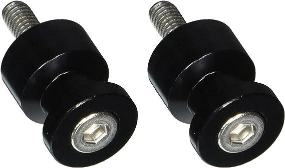 Black 8mm Swingarm Spool Factory Effex 15-36708