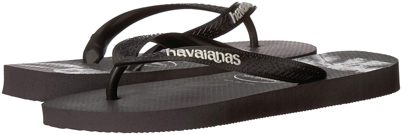 Stripes Logo Havaianas Mens Flip Flop Sandals